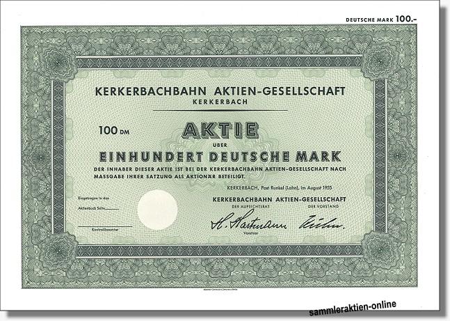 Kerkerbachbahn Aktien-Gesellschaft