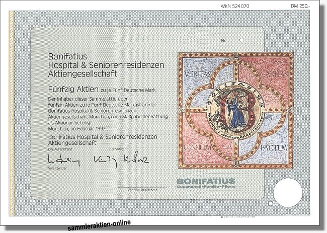 Bonifatius Hospital & Seniorenresidenzen AG