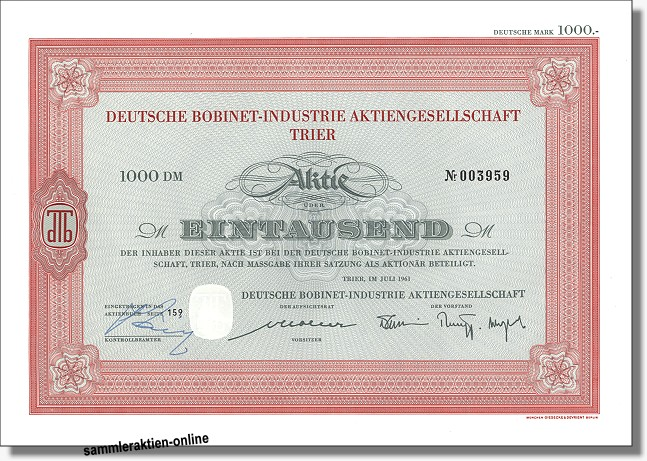 Deutsche Bobinet-Industrie AG