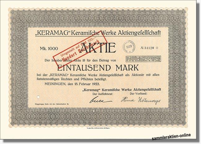 Keramag Keramische Werke AG