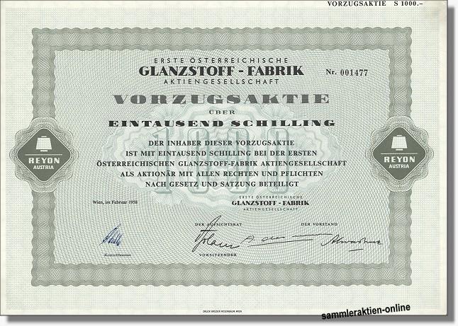 Erste Österreichische Glanzstoff-Fabrik AG