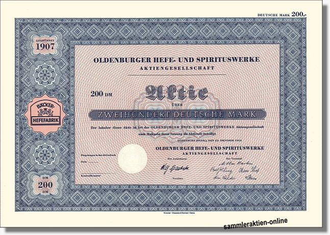 Oldenburger Hefe- und Spirituswerke AG