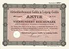 Aktienbrauerei Gohlis in Leipzig-Gohlis