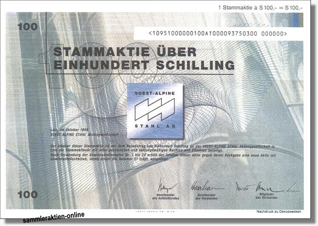 Voest-Alpine Stahl Aktiengesellschaft