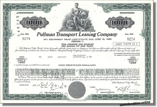 Pullman Transport Leasing Company