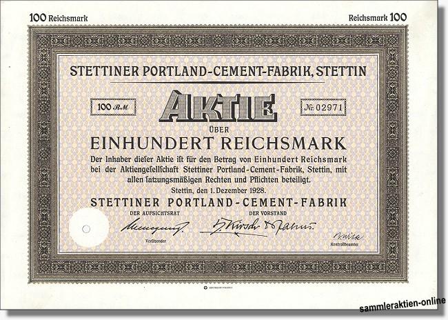 Stettiner Portland-Cement-Fabrik AG
