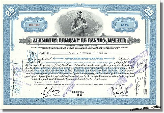 Aluminium Company of Canada, Limited - ALCAN