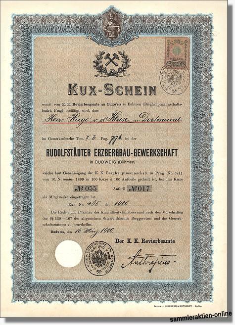 Rudolfstädter Erzbergbau-Gewerkschaft