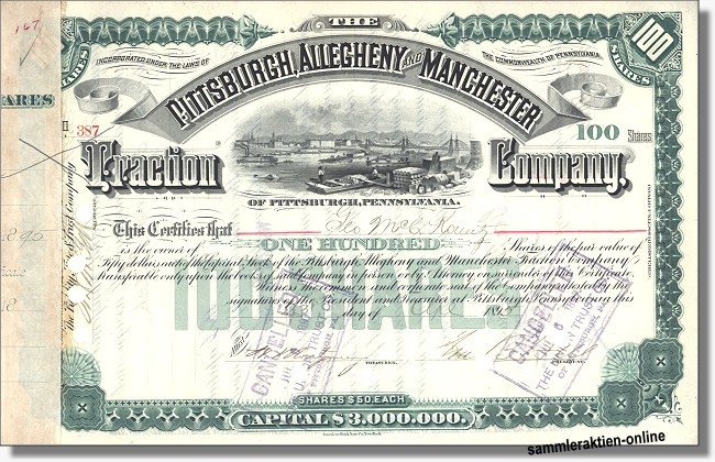 Pittsburgh, Allegheny and Manchester Traction Company