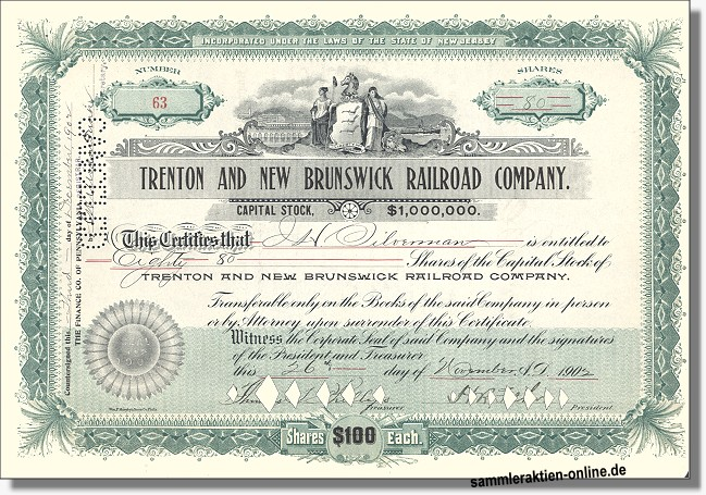 Trenton and New Brunswick Railroad Company
