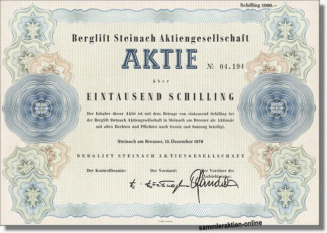 Berglift Steinach Aktiengesellschaft