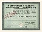 Schaffner und Albert Aktiengesellschaft