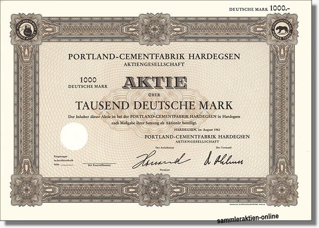 Portland-Cementfabrik Hardegsen AG