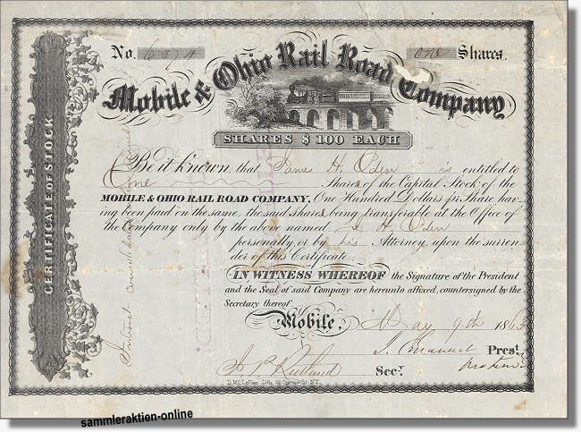 Mobile and Ohio Railroad Company