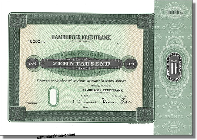 Hamburger Kreditbank Aktiengesellschaft
