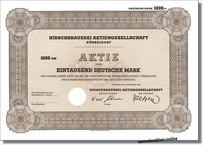 Hirschbrauerei Aktiengesellschaft