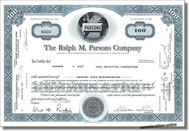 The Ralph M. Parsons Company