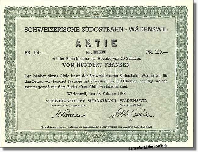 Schweizerische Südostbahn