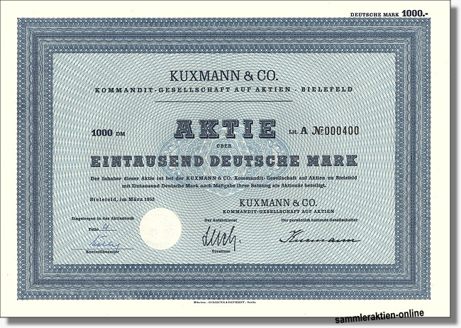 Kuxmann & Co. KGaA