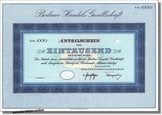 Berliner Handelsgesellschaft