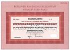 Berliner Handels-Gesellschaft - Frankfurter Bank - BHF