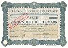 Frankonia Aktiengessllschaft vormals Albert Frank