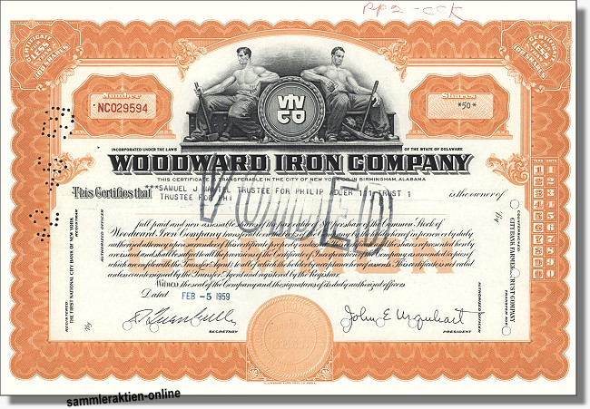 Woodward Iron Company