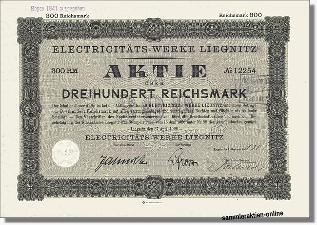 Electrizitäts-Werke Liegnitz