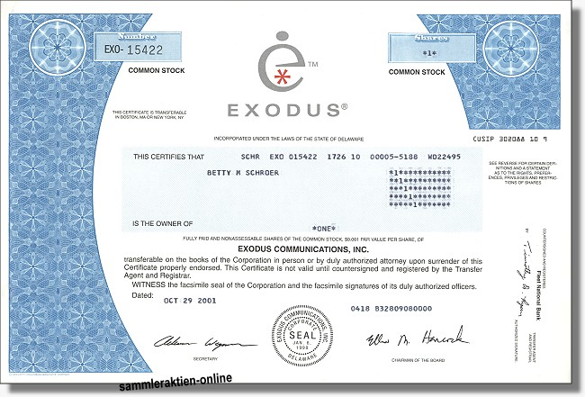 Exodus Communications Inc.