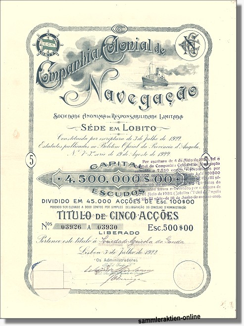 Companhia Colonial de Navegação