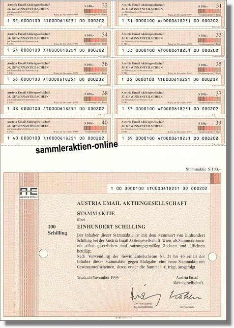 Austria Email Aktiengesellschaft