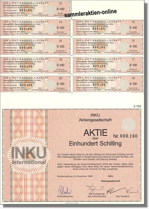 INKU Aktiengesellschaft