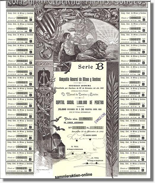 Compania General de Minas y Sondeos S.A.