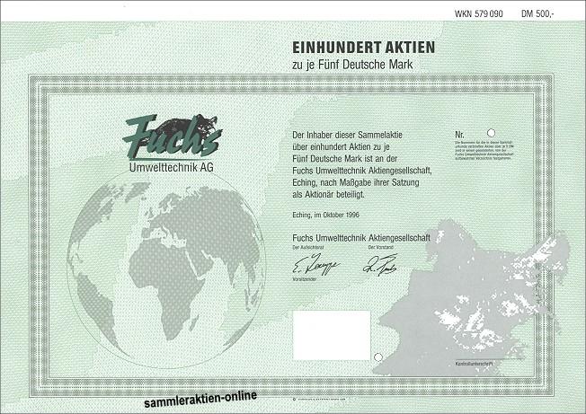 Fuchs Umwelttechnik AG