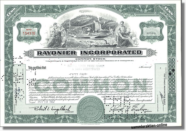 Rayonier Incorporated