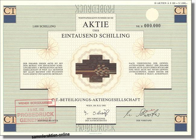 C. T. - Beteiligungs-Aktiengesellschaft
