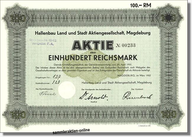 Hallenbau Land und Stadt Aktiengesellschaft