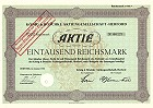 König & Böschke Aktiengesellschaft