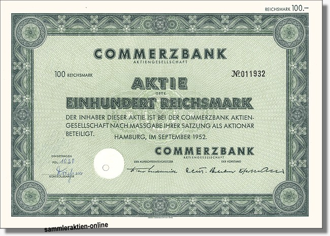 Commerzbank AG von 1870