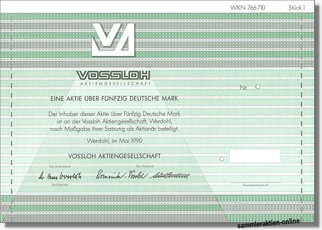 Vossloh Aktiengesellschaft