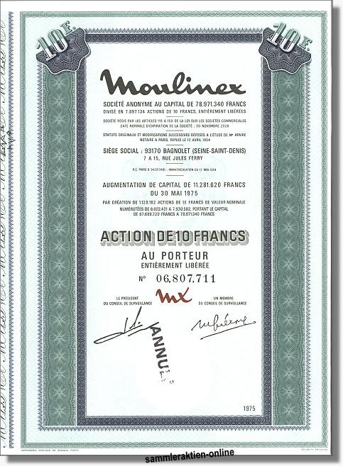 Moulinex S.A.