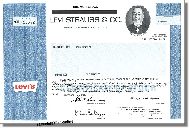 Levi Strauss & Co. - Levi's Jeans