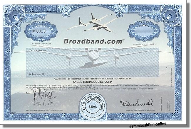 Angel Technologies Corp. - Broadband.com