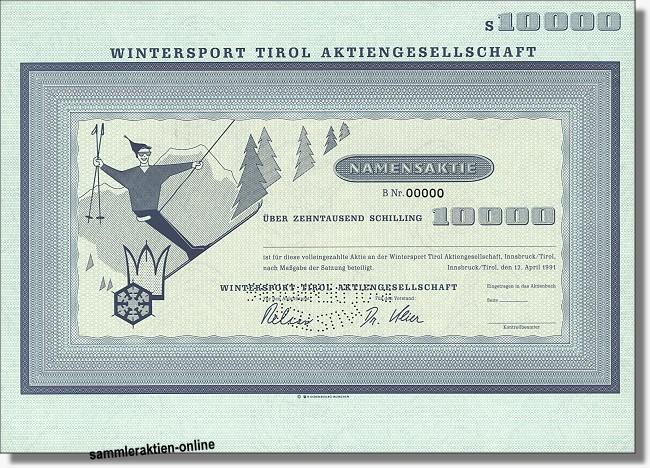 Wintersport Tirol Aktiengesellschaft