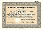 R. Frister Aktiengesellschaft