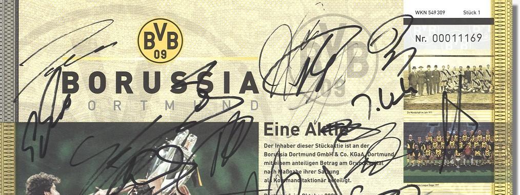 Borussia Dortmund Aktien