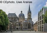 Historische Wertpapiere, alte antike Aktien,  Schmuckaktien aus Aachen