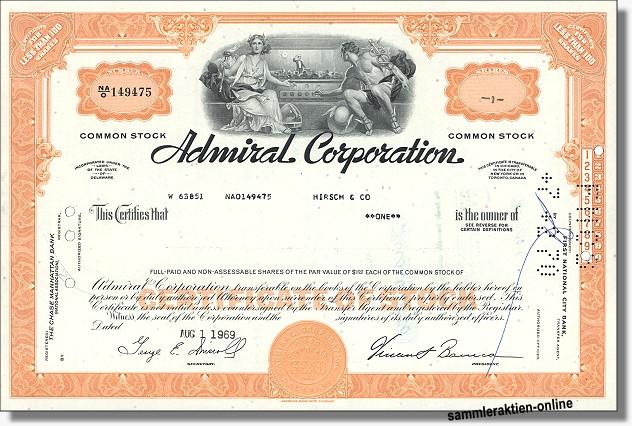 Admiral Corporation
