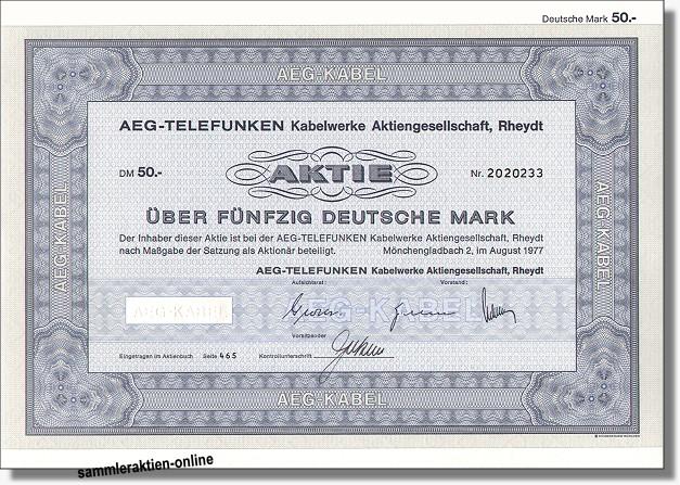 AEG-Telefunken Kabelwerke