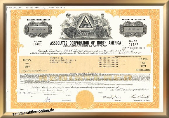 Associates Corporation of North America - Citigroup